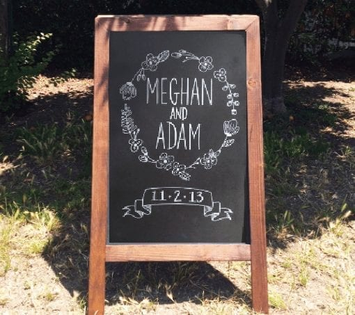 A Frame Chalkboard Signs Just 4 Fun Party Rentals 805 680 5484