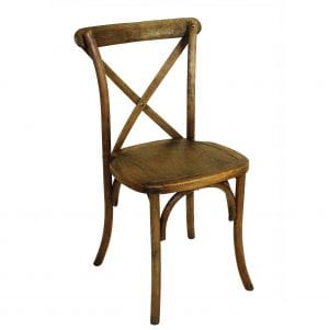 rent cross back chair