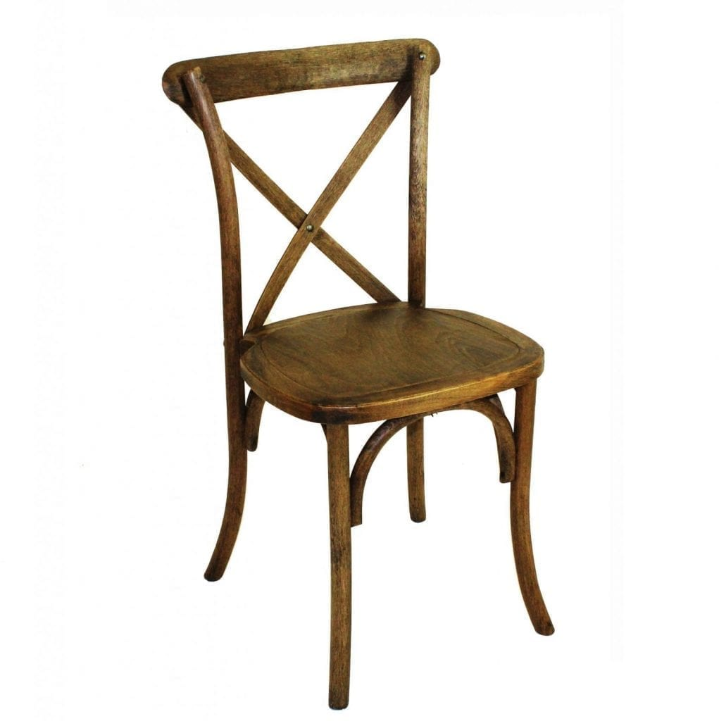 Exceptionnel Oak Cross Back Chairs