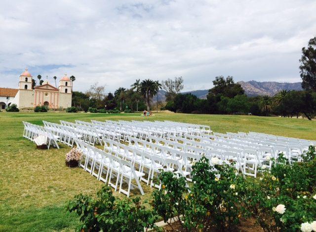 mission rose garden wedding