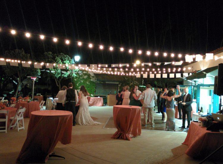 wedding chase palm park terrace