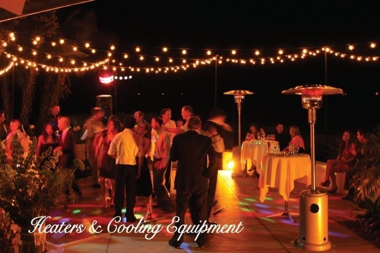 rent patio heaters