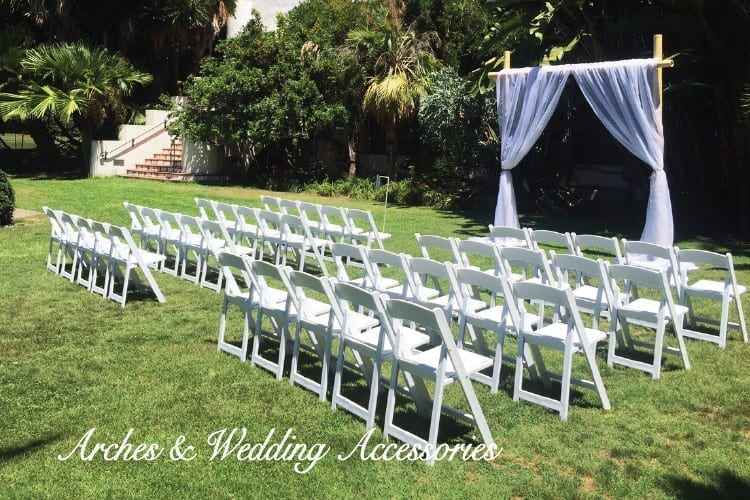 santa barbara wedding rentals