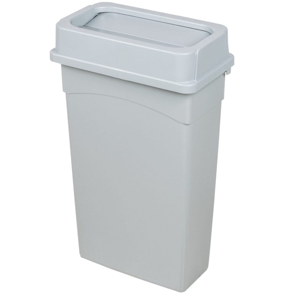 23 gallon slim trash cans just 4 fun party rentals santa barbara - Slim garbage cans for kitchen ...
