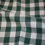 Green & White Checks