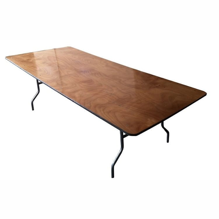 Rent 8 ft x 36 inch queen tables party rentals santa barbara for 10 foot banquet table