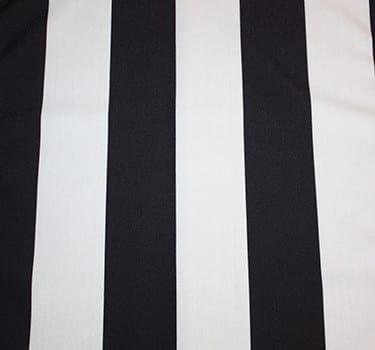 Black Hampton Stripe Table Runner Just 4 Fun Party Rentals