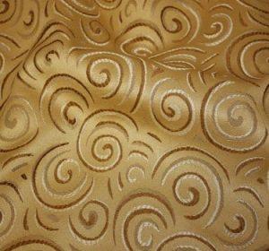 Gold Swirl Jacquard