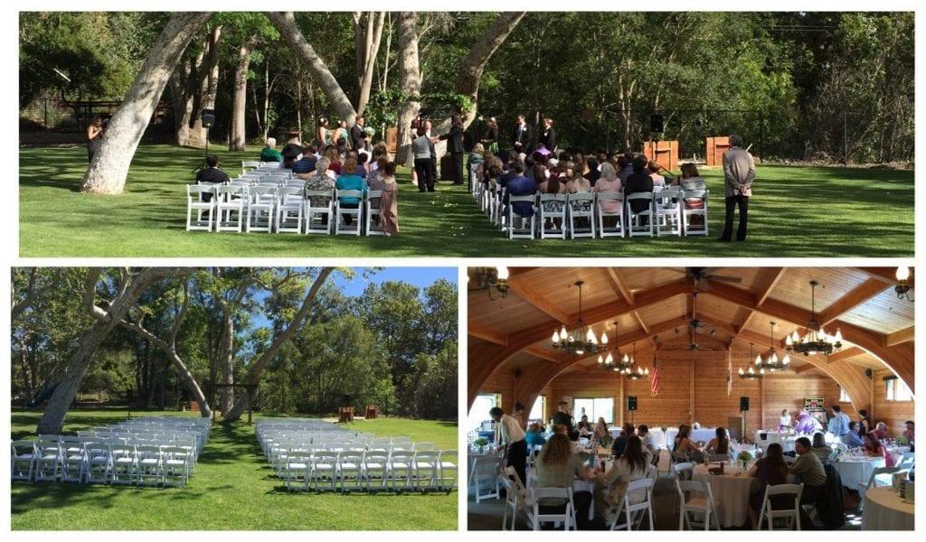 Lions Club Wedding Carpinteria California