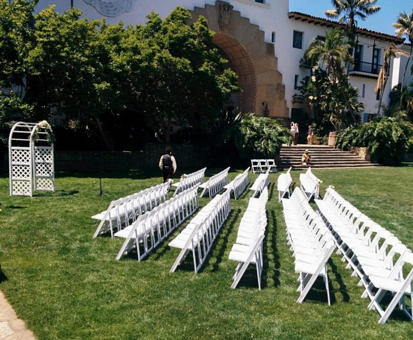 SB Courthouse Lower Lawn Ceremony