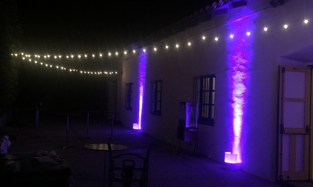 String Lights Outdoor Rental : Rent String Lights - Wedding Lights & Ambience