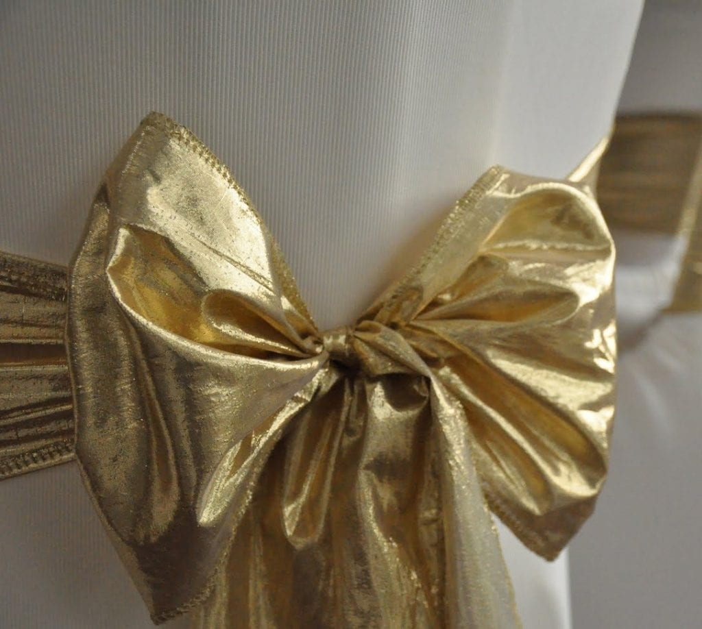 Gold Tissue Lame Just 4 Fun Party Rentals