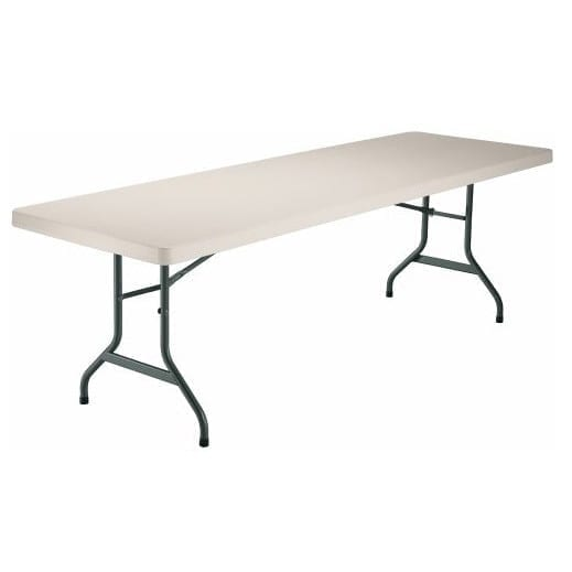 Rent 8 ft banquet tables just 4 fun party rentals santa for 10 foot banquet table