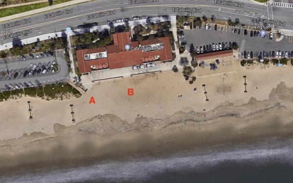 Cabrillo Pavilion Beach