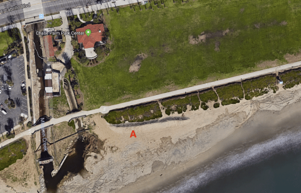 Chase Palm Park Center Beach