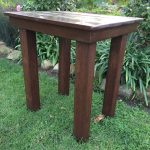 Rustic Spanish Side Table