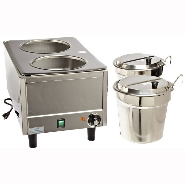 Double Warmer with Ladles