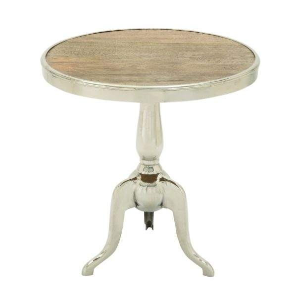 Modern Vintage Pedestal Table