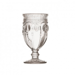 Can-Can Clear Footed Goblets