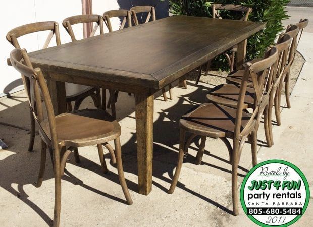 rent portable farm table