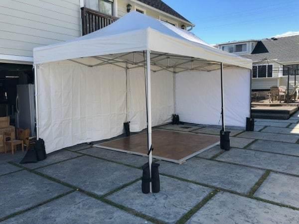 10x20 vinyl top tent