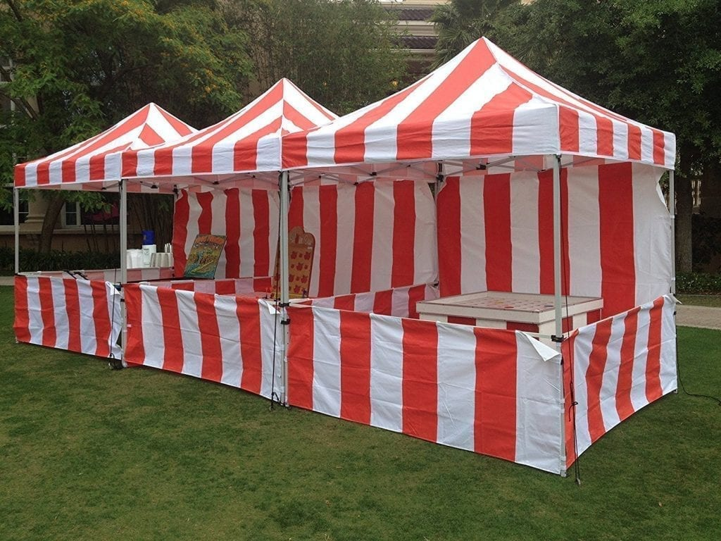 Full Carnival Tent Package Just 4 Fun Party Rentals