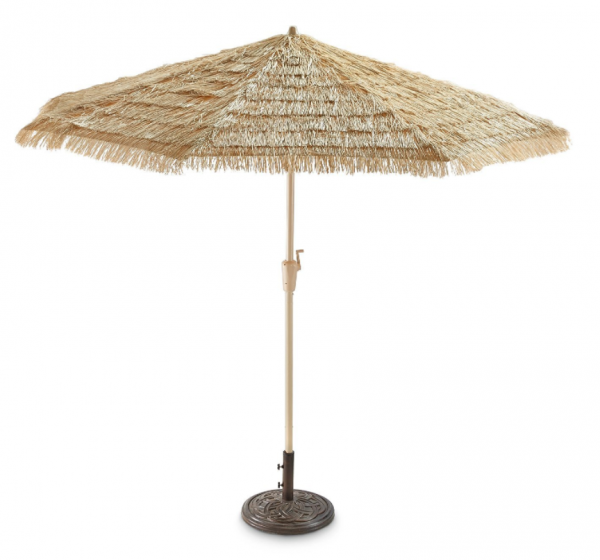 Thatched Tiki Umbrella
