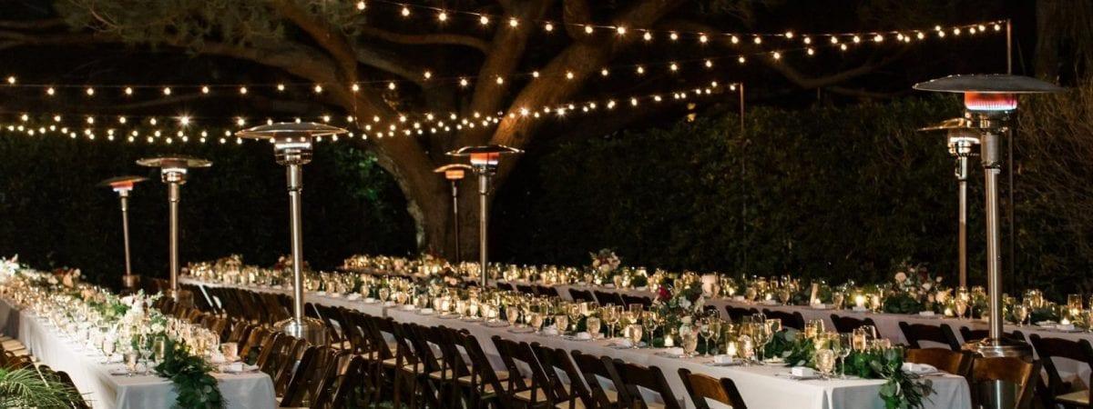 string lighting rentals