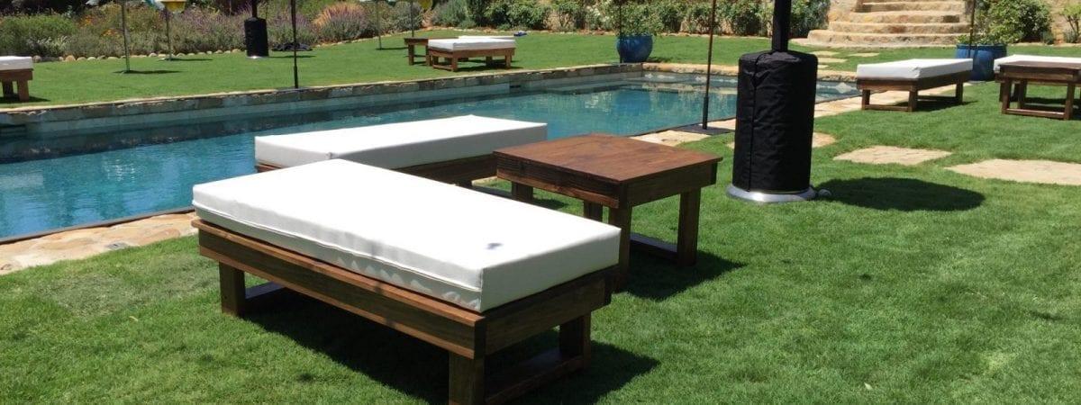 Wooden Furniture Rentals