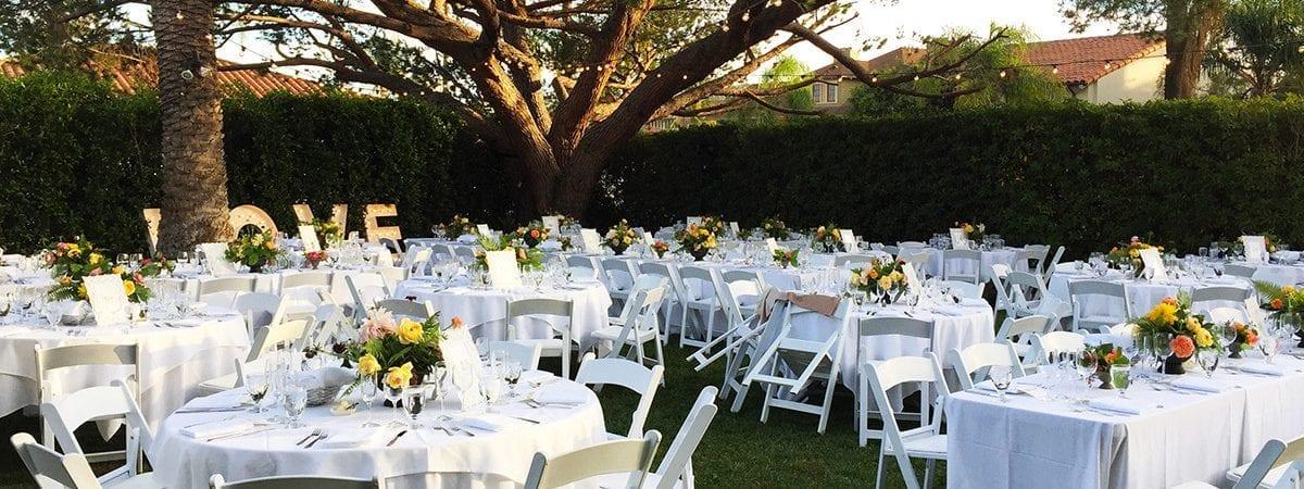 santa barbara wedding rentals