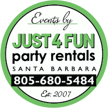 Just 4 Fun Party Rentals Santa Barbara
