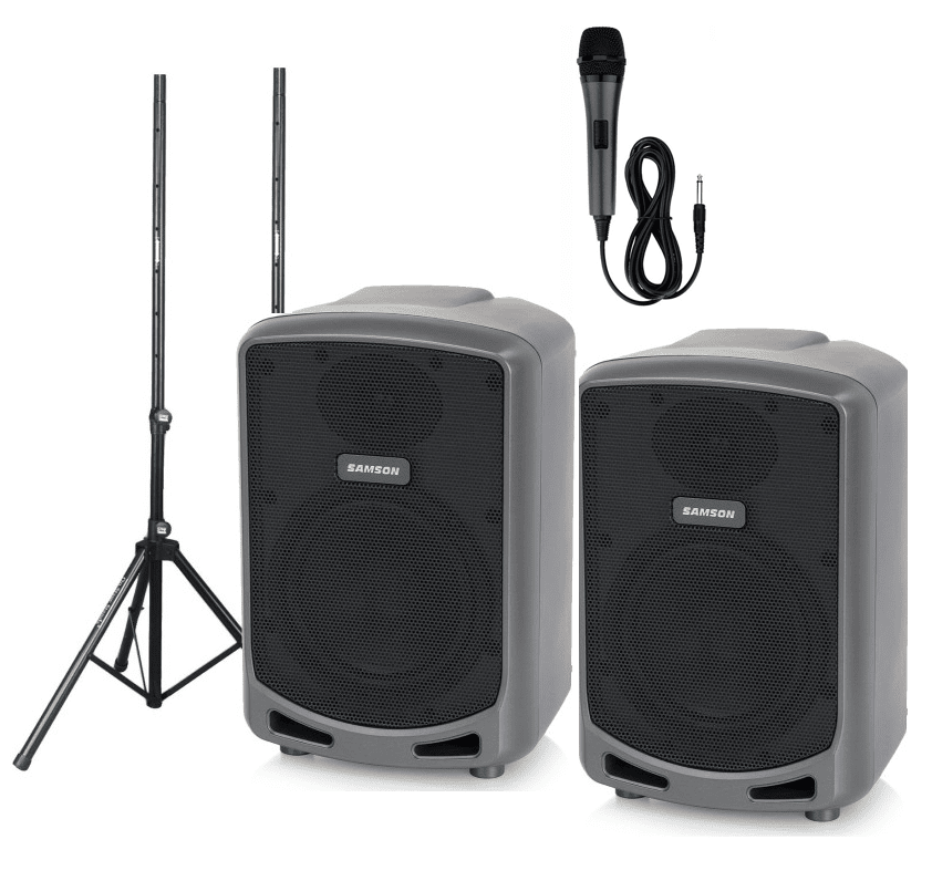 Battery Powered Speakers, Sound Systems & MIcrophones