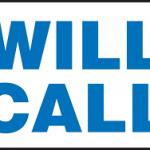 Will-Call Rentals