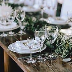 Glassware Rentals Santa Barbara 93101